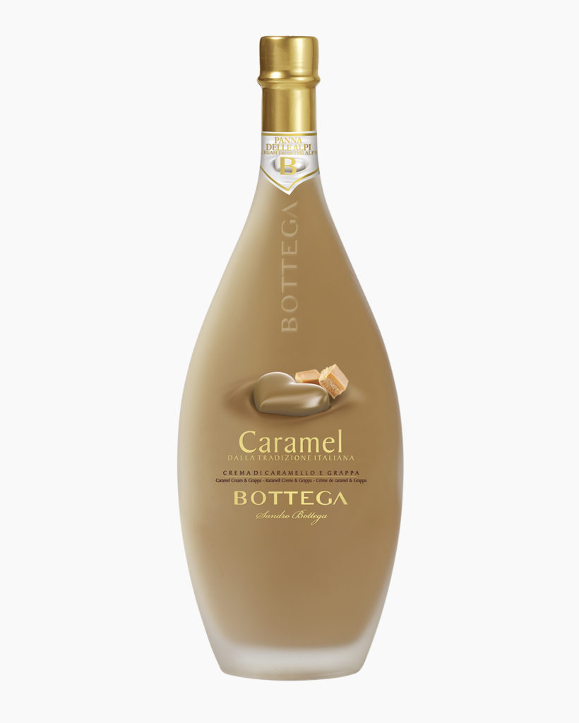 Bottega crema caramello e grappa
