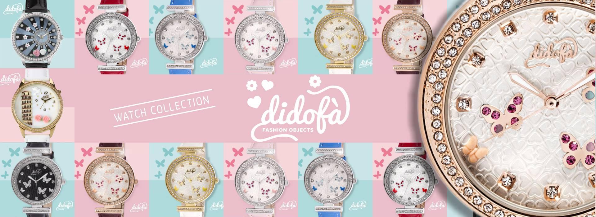 Didofà orologi fashion fantasia donna wall