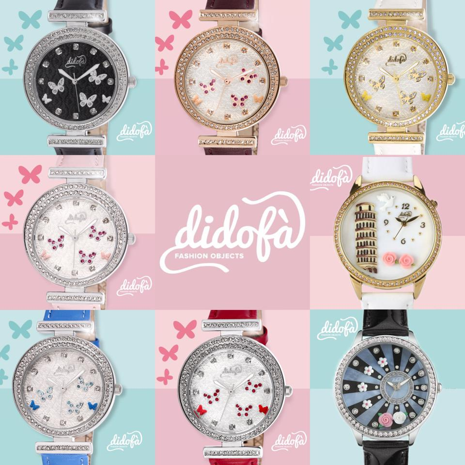 Didofà orologi fashion fantasia donna mob