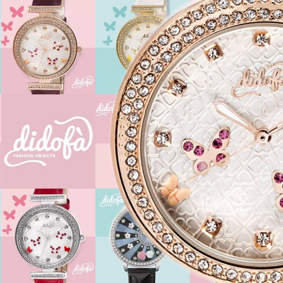 Didofà orologi fashion fantasia donna wall mob