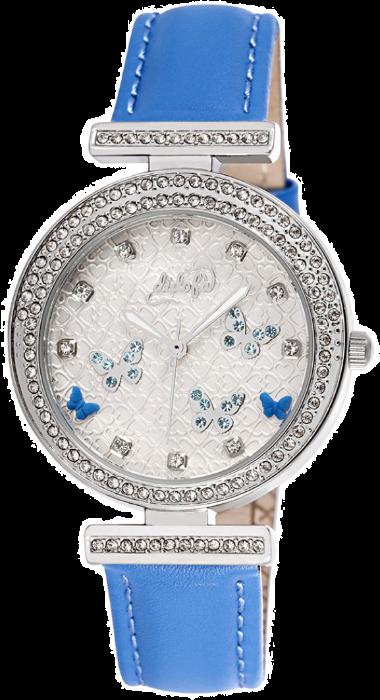 Didofà orologi fashion fantasia donna farfalla-blu