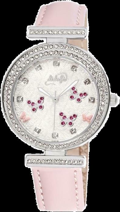 Didofà orologi fashion fantasia donna farfalla-rosa