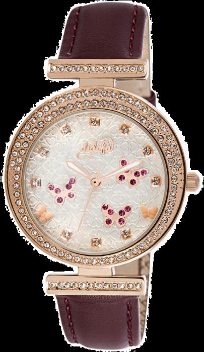 Didofà orologi fashion fantasia donna farfalla-viola