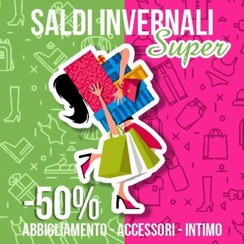 Super Saldi Invernali -50% cover