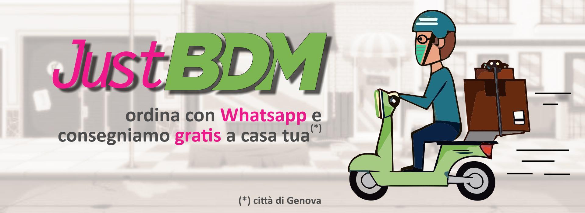 Consegna gratuita a casa BDM