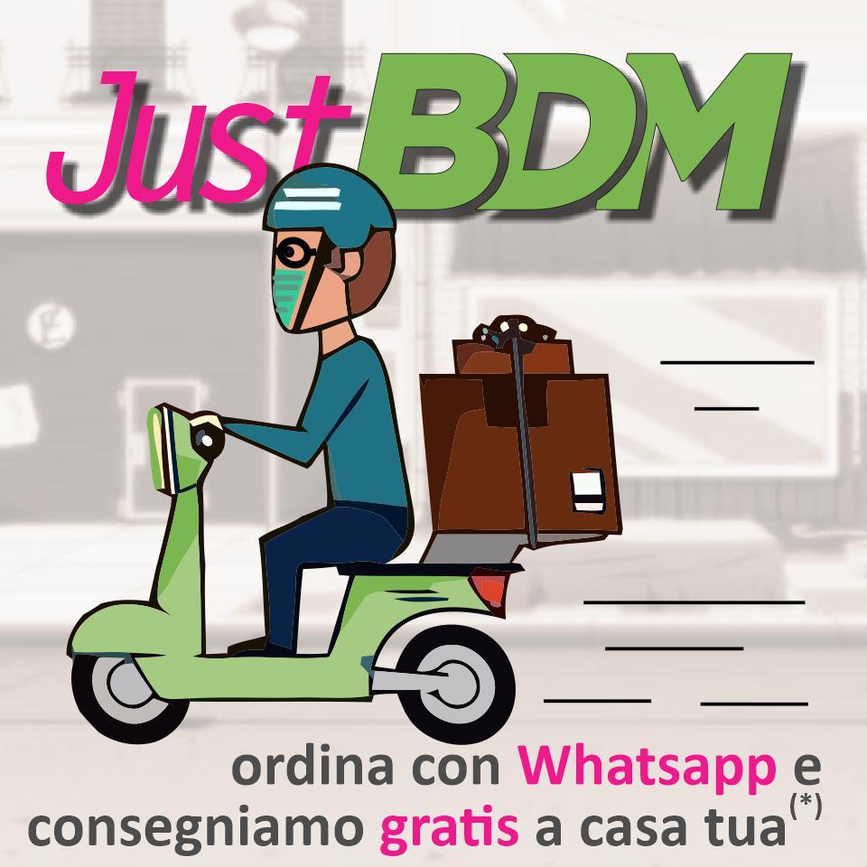 Consegna gratuita a casa BDM mob